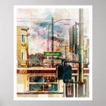 artsprojekt, Cartaz/impressão com design gráfico personalizado