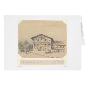La Mission Delores, San Francisco, CA (1205) Card