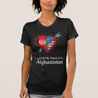 La mitad de mi corazón está en Afganistán Camiseta