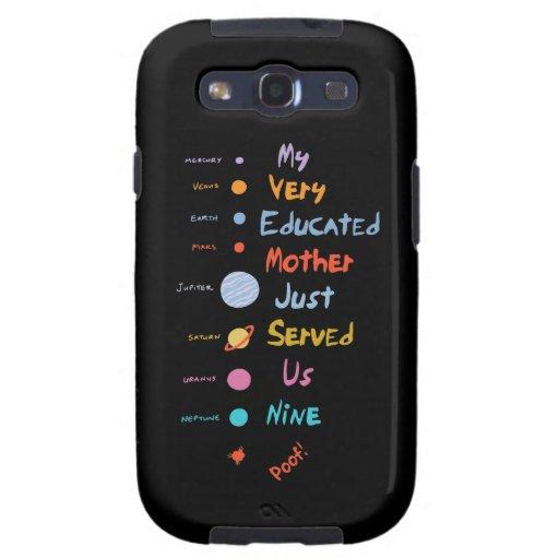 La mnemónica corrigió II Galaxy S3 Fundas