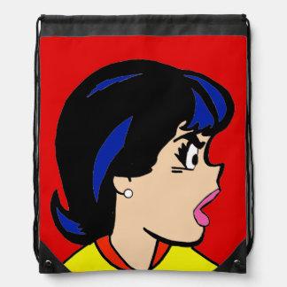 La mochila del lazo de la historieta de Boss