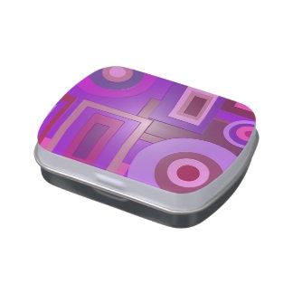La MOD púrpura ajusta el extracto de los círculos
