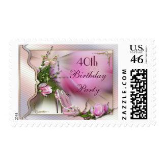 La moda calza cumpleaños de la mariposa de la magn