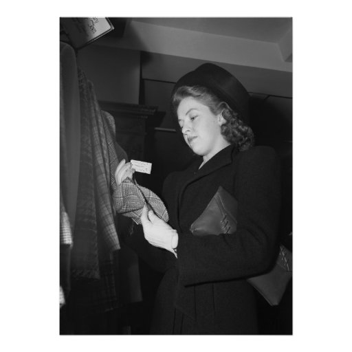 La moda de las mujeres, los años 40 poster
