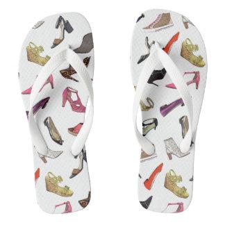 La moda de moda calza balanceos