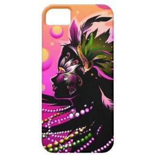 La moda del caso del iPhone 5 del carnaval Funda Para iPhone SE/5/5s
