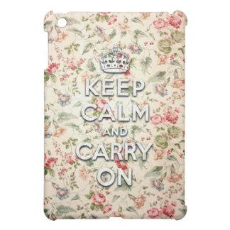 La moda guarda calma y continúa iPad mini cárcasas
