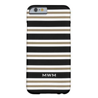 LA MODA IPHONE6 CASE_CAMEL/BLACK/WHITE RAYA #3 FUNDA BARELY THERE iPhone 6