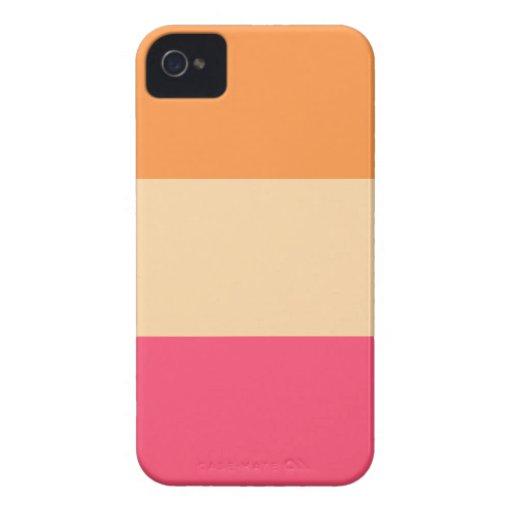 La moda raya la caja de Iphone 4/4S Case-Mate iPhone 4 Protector