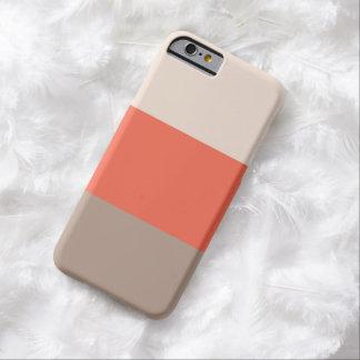 La moda raya la caja del iPhone 6 Funda Para iPhone 6 Barely There