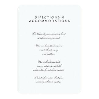 """La moda simple 4,5"""" x 6,25"""" redondeó la tarjeta invitación 11,4 x 15,8 cm"""