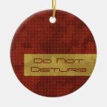 La moda urbana no perturba el ornamento ornaments para arbol de navidad