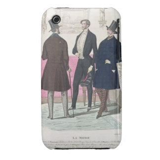 La Mode: Advertisement for 19th Century Men's Fash Case-Mate iPhone 3 Cases