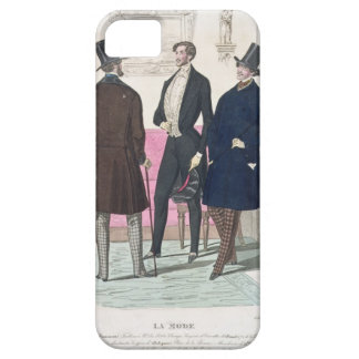 La Mode: Advertisement for 19th Century Men's Fash iPhone 5 Covers