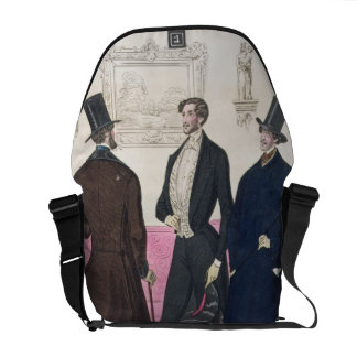 La Mode: Advertisement for 19th Century Men's Fash Courier Bag