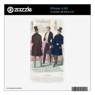 La Mode: Advertisement for 19th Century Men's Fash Decals For The iPhone 4S