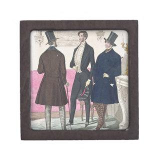 La Mode: Advertisement for 19th Century Men's Fash Gift Box