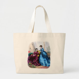 La Mode Illustree Blue and Raspberry Gowns Bag