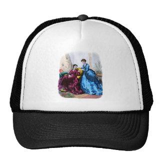 La Mode Illustree Blue and Raspberry Gowns Trucker Hat
