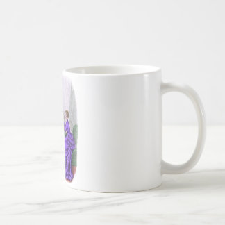 La Mode Illustree Purple and Rust Gowns Coffee Mug