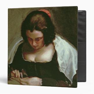 """La modista, c.1640-50 carpeta 1 1/2"""""""