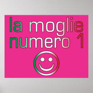 La Moglie Numero 1 - Number 1 Wife in Italian Poster