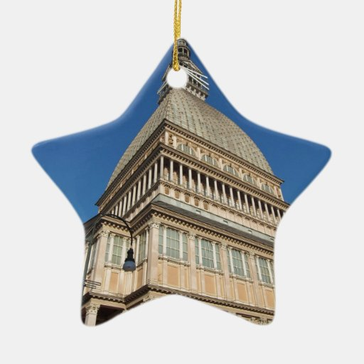 La Mole Antonelliana Turin Ceramic Ornament