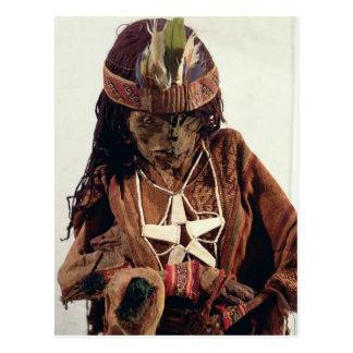 La momia adornó con la joyería del hueso, c.200 postal