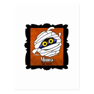 La momia es la palabra tarjetas postales