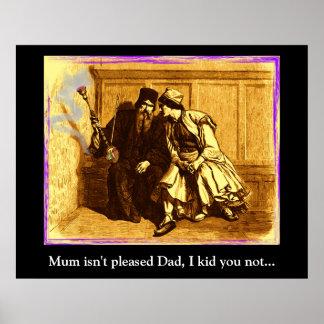 La momia no es papá contento, yo le embroma no… poster