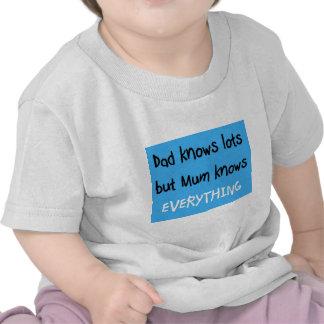 la momia sabe todo camisetas