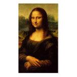 La Mona Lisa de Leonardo da Vinci C. 1503-1505 Tarjetas De Visita