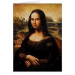 La Mona Lisa de Leonardo da Vinci Felicitaciones