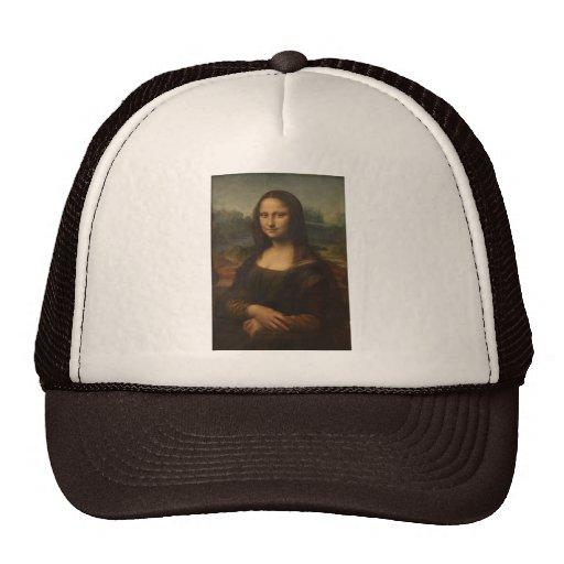 La Mona Lisa de Leonardo da Vinci Gorra