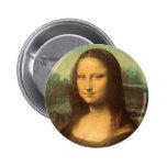 La Mona Lisa de Leonardo da Vinci Pins