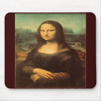 La Mona Lisa de Leonardo da Vinci Alfombrilla De Ratones