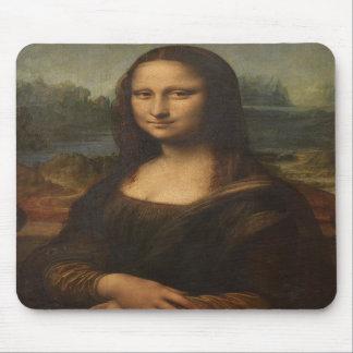 La Mona Lisa de Leonardo da Vinci Alfombrilla De Ratón