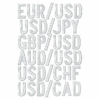 La moneda importante se empareja (bordado) sudadera bordada