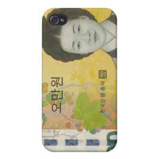 La moneda surcoreana ganó el caso del iPhone 50000 iPhone 4/4S Funda