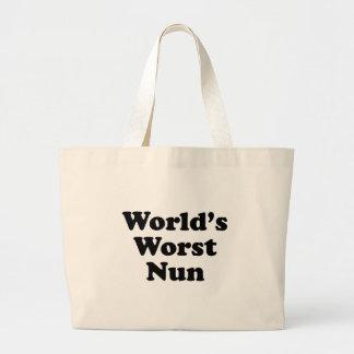 La monja peor del mundo bolsa lienzo