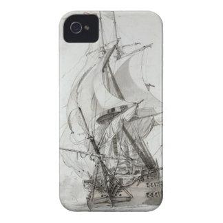 La Montagne, c.1794 (w/c encierre y la tinta) iPhone 4 Carcasas