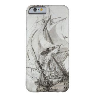 La Montagne, c.1794 (w/c encierre y la tinta) Funda De iPhone 6 Barely There
