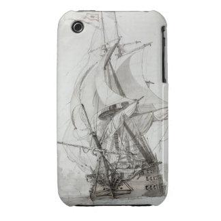 La Montagne, c.1794 (w/c encierre y la tinta) iPhone 3 Case-Mate Protectores