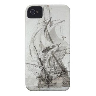 La Montagne, c.1794 (w/c encierre y la tinta) iPhone 4 Cárcasa