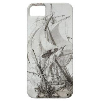 La Montagne, c.1794 (w/c encierre y la tinta) iPhone 5 Case-Mate Protectores