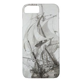 La Montagne, c.1794 (w/c pen & ink) iPhone 7 Case