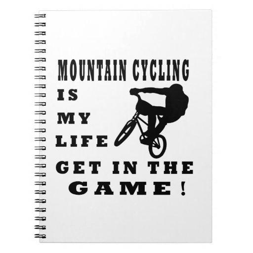 La montaña Cyling es mi vida Libretas Espirales