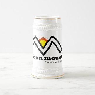 """La montaña del hombre """"eleva su vida!"""" Stein Jarra De Cerveza"""