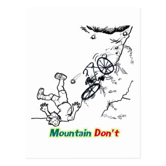 La montaña no hace postal
