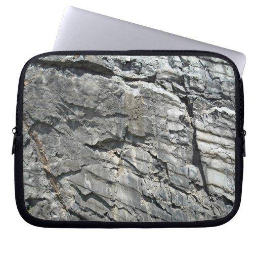 La montaña oscila la textura de piedra fundas portátiles